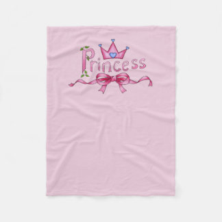 Princess Fleece Blanket