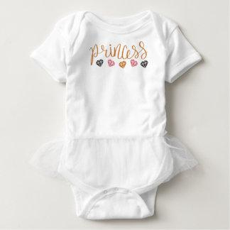 Princess Gemstones Baby Bodysuit