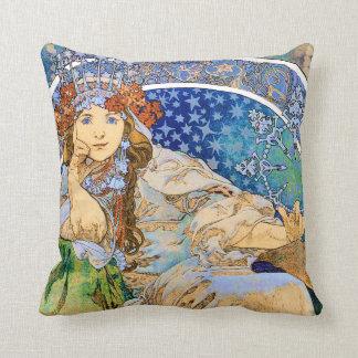 Princess Hyacinth Vintage Theater Advertisement Cushion