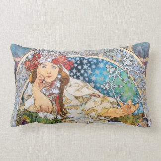 Princess Hyacinth Vintage Theater Advertisement Lumbar Cushion