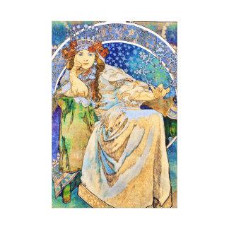 Princess Hyacinth Vintage Theatre Advertisement Canvas Print