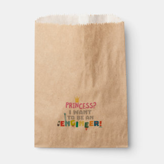 Princess  I want to be an Engnineer Z2yb2 Favour Bag