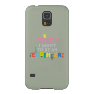 Princess  I want to be an Engnineer Z2yb2 Galaxy S5 Case