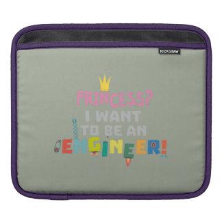 Princess  I want to be an Engnineer Z2yb2 iPad Sleeve