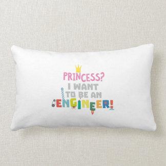 Princess  I want to be an Engnineer Z2yb2 Lumbar Cushion