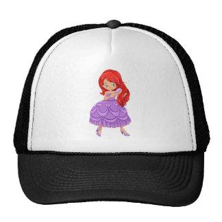 Princess in dress cap