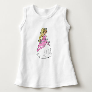 Princess in Pink Baby Sleeveless Dress