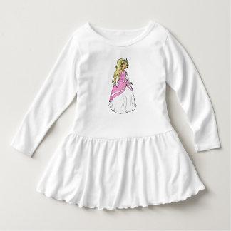 Princess in Pink Toddler Ruffle Dress