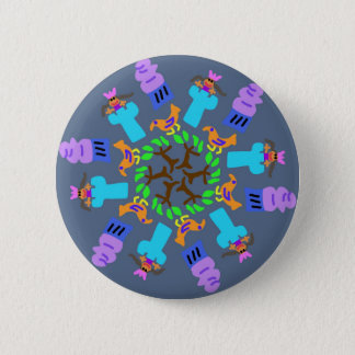 Princess in the Tower 6 Cm Round Badge