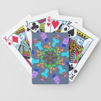 Princess in the Tower Bicycle Playing Cards