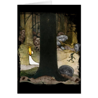 Princess in the Woods Card