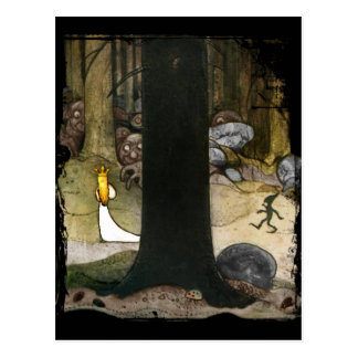 Princess in the Woods Postcard