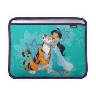 Princess Jasmine & Rajah Floral Sleeve For MacBook Air