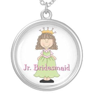Princess Jr. Bridesmaid Gift Necklace