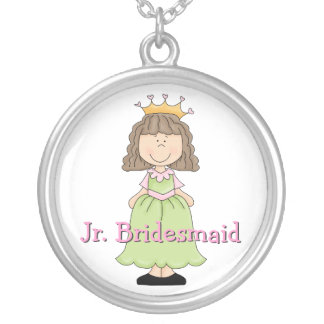 Princess Jr. Bridesmaid Gift Necklace