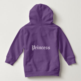 'Princess' Kids hooded sweatshirt