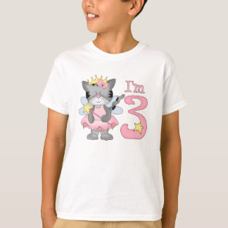 Princess Kitty 3rd Birthday T-Shirt