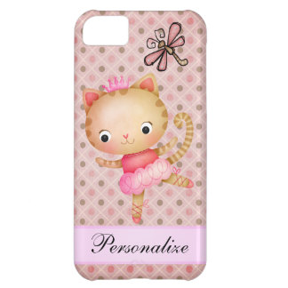 Princess Kitty Ballerina & Dragonfly iPhone 5 iPhone 5C Case