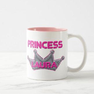 Princess Laura Two-Tone Coffee Mug