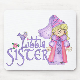 Princess Little Sister Mouse Pads