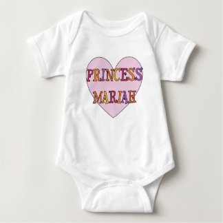 Princess Mariah Baby Outfit Baby Bodysuit