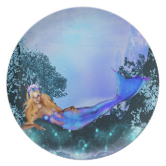 Princess Mermaid Plate