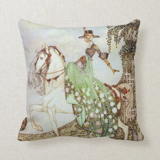Princess Minon-Minette Kay Nielsen Fine Art Cushion