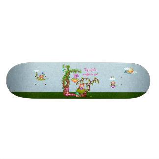 Princess Muffin & Friends Pixel Art Skate Boards