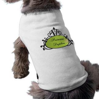 Princess Name Filigree Pet T-shirt