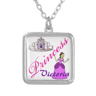 Princess necklace - Brunette