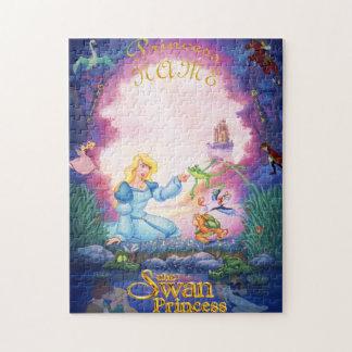 Princess Odette Personalized Photo Puzzle
