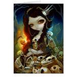"""""""Princess of Bones"""" Greeting Card"""