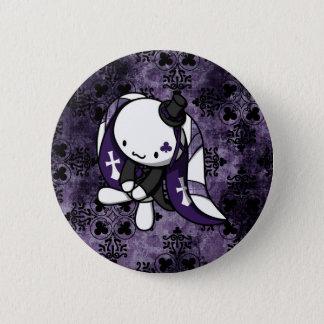 Princess of Clubs White Rabbit 6 Cm Round Badge