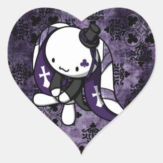 Princess of Clubs White Rabbit Sticker