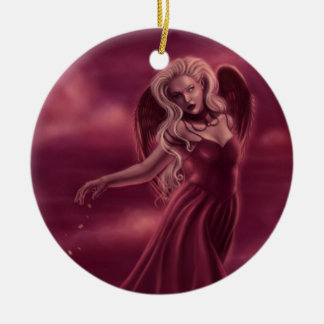 Princess of Hearts Round Ornament