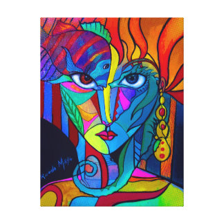Princess of Is Canvas Print