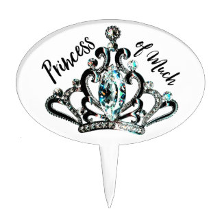Princess of Much! Cake Pick