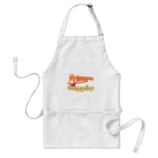 princess of shopping apron