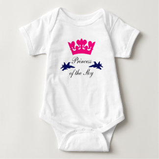Princess of the Sky Baby Bodysuit