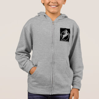PRINCESS OF THE UNICORN - girls hoodie
