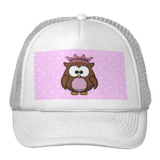 princess owl cap