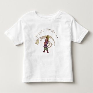 Princess Paleontologist Toddler T-Shirt