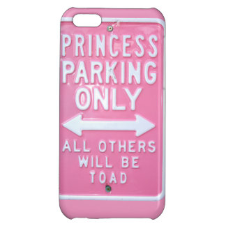 Princess parking only iPhone 5C cover