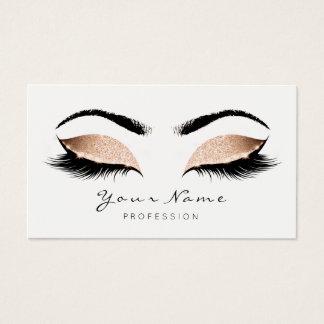 Princess Peach Makeup Artist Lashes Beauty Studio Business Card