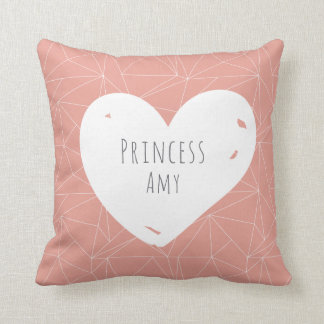 Princess Personalized Throw Cushion