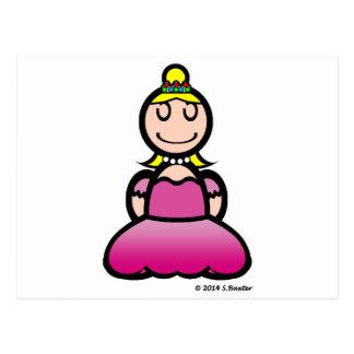Princess (plain) postcard