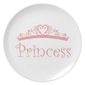 Princess Party Plate