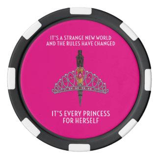 Princess Poker Chips