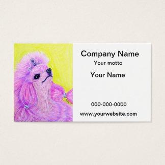 Princess Poodle Business Card