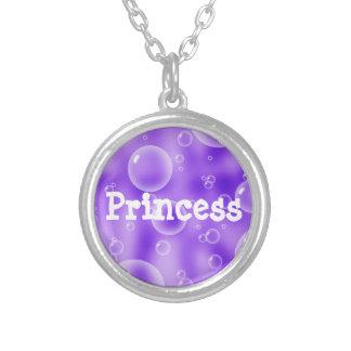Princess Purple Bubbles Necklace